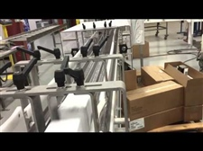 Pneumatic Divert to Multiple Hand Pack Stations