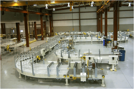 Customer Conveyors come in the most complicated designs.