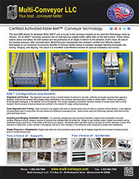ARB conveyors Intralox Multi-Conveyor