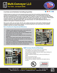 controls electronics and servo systems by Multi-Conveyor