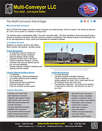 Multi-Conveyor the better conveyor manufacturer