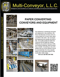 Conveyors for paper, converting and non-wovens