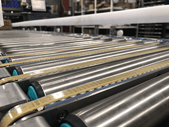 MDR motor driven roller conveyors