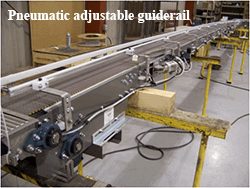 Pneumatic guiderail