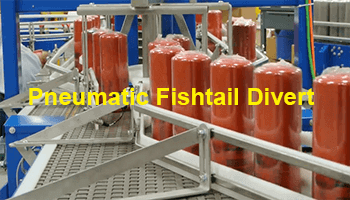 Pneumatic Fishtail Divert