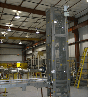 case carton elevators lowerators